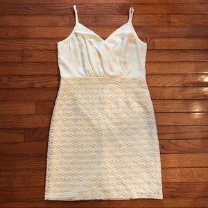 Ivory Bodycon dress